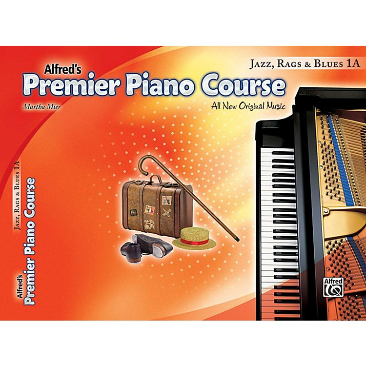 AlfredPremier Piano Course: Jazz, Rags & Blues Book 1A