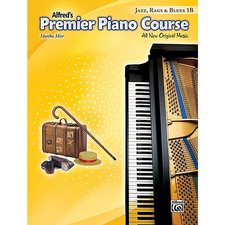 AlfredPremier Piano Course: Jazz, Rags & Blues Book 1B