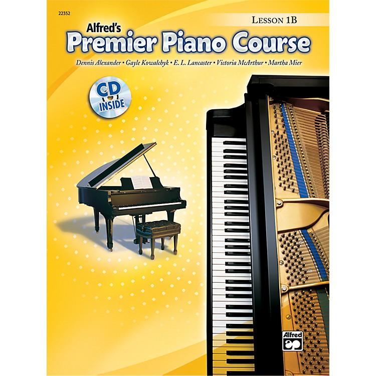 AlfredPremier Piano Course Lesson Book 1B Book 1B & CD
