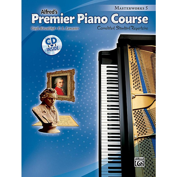 Alfred Premier Piano Course: Masterworks Book 5 & CD