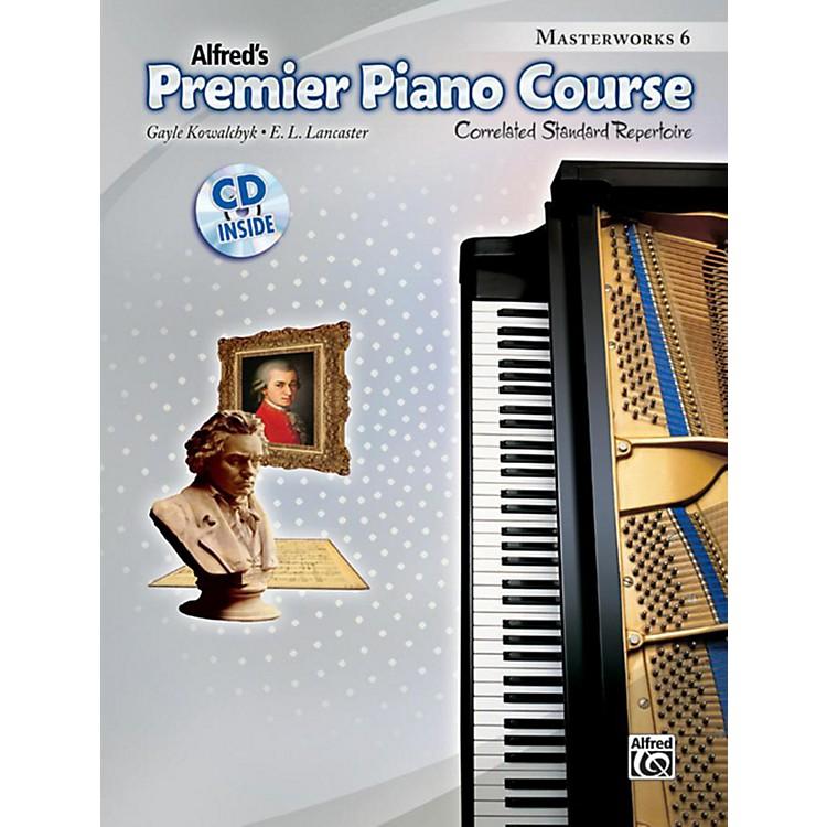 AlfredPremier Piano Course Masterworks Book 6 & CD