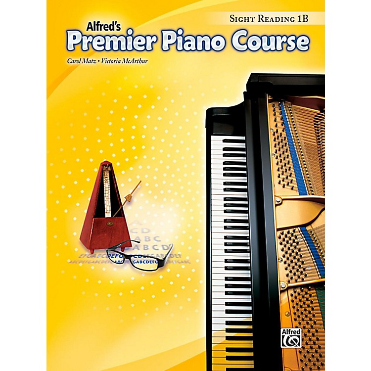 AlfredPremier Piano Course Sight Reading Level 1B Book
