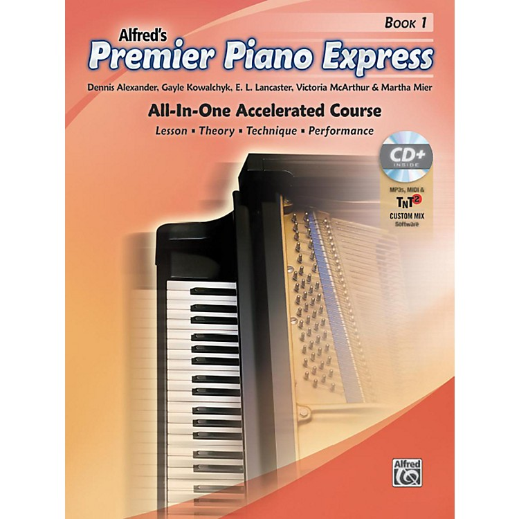AlfredPremier Piano Express Book 1 Book CD & Online Audio & Software Level 1