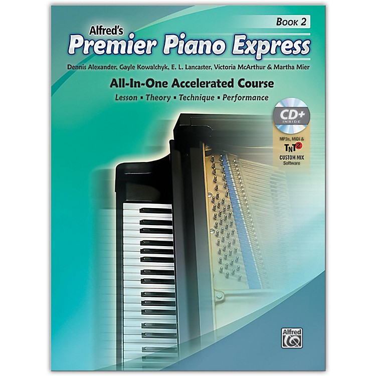 Alfred Premier Piano Express Book 2 Book CD & Online Audio & Software Level 2