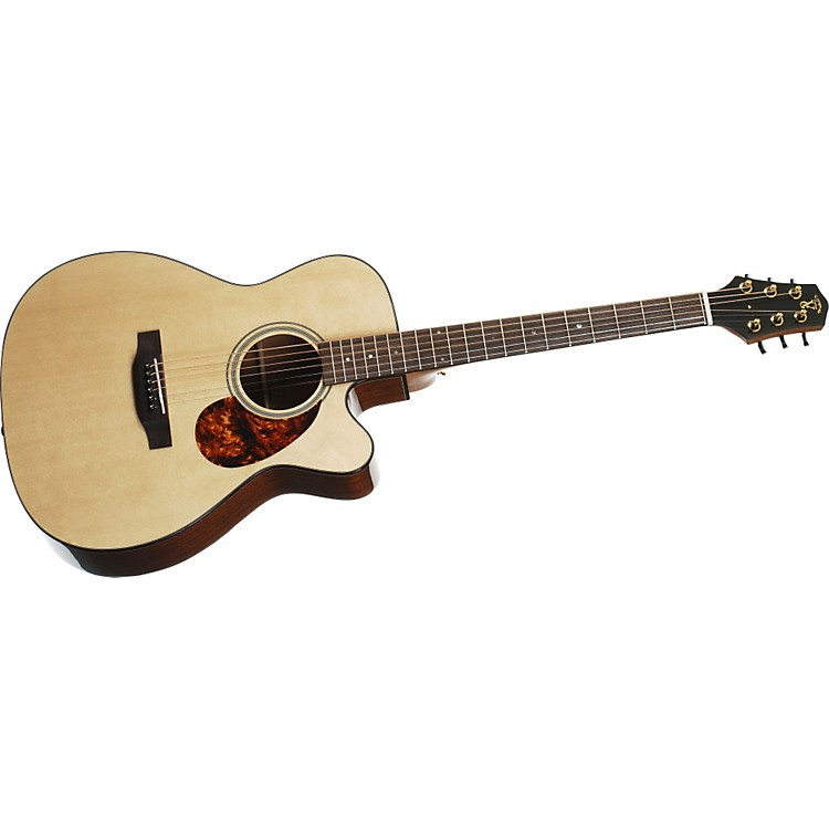 Voyage-Air Guitar Premier Series VAOM-1C Full-Size Folding Orchestra Model Acoustic Guitar Natural