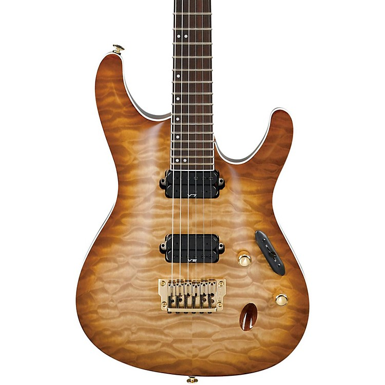 Ibanez Prestige S Series 6-String Quilted Maple Top Electric Guitar Wild Pilsner Burst