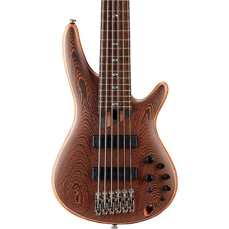 IbanezPrestige SR5006 6-String Electric Bass GuitarNatural