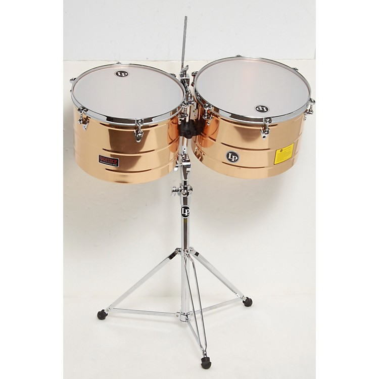 LP Prestige Series Bronze Timbales 15 and 16 in. 886830262142