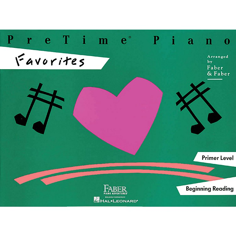 Faber Music Pretime Piano Favorites Book Primer Level