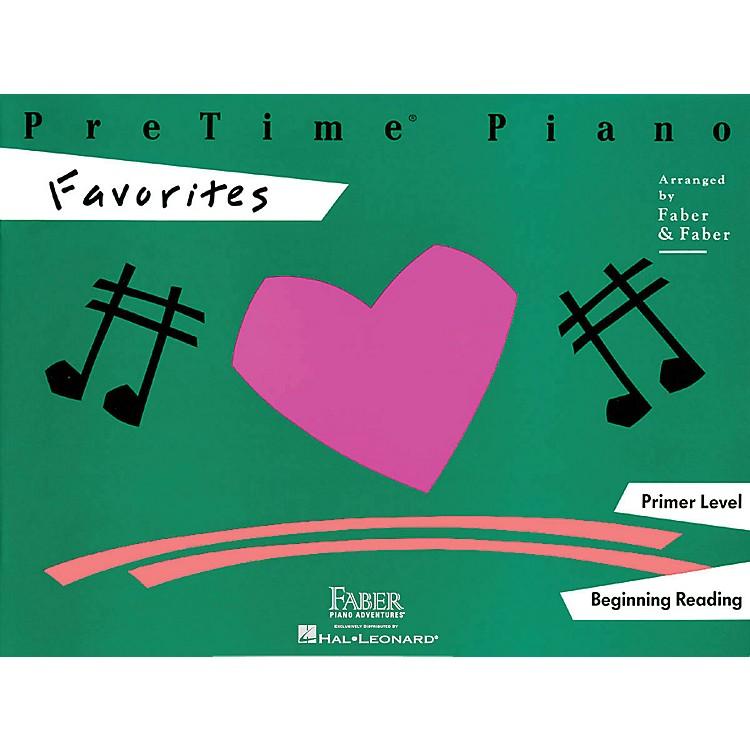 Faber MusicPretime Piano Favorites Book Primer Level