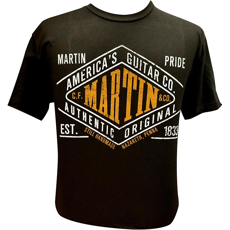 Martin Pride Authentic T-Shirt Black X-Large