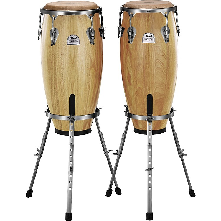 PearlPrimero Conga Set with Basket StandsNatural