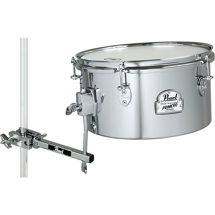 Pearl Primero Steel Timbale with Mounting Clamp  13