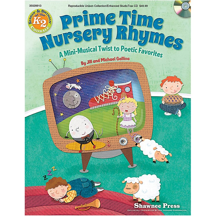 Hal LeonardPrimetime Nursery Rhymes - A Mini-Musical Twist to Poetic Favorites Performance Kit