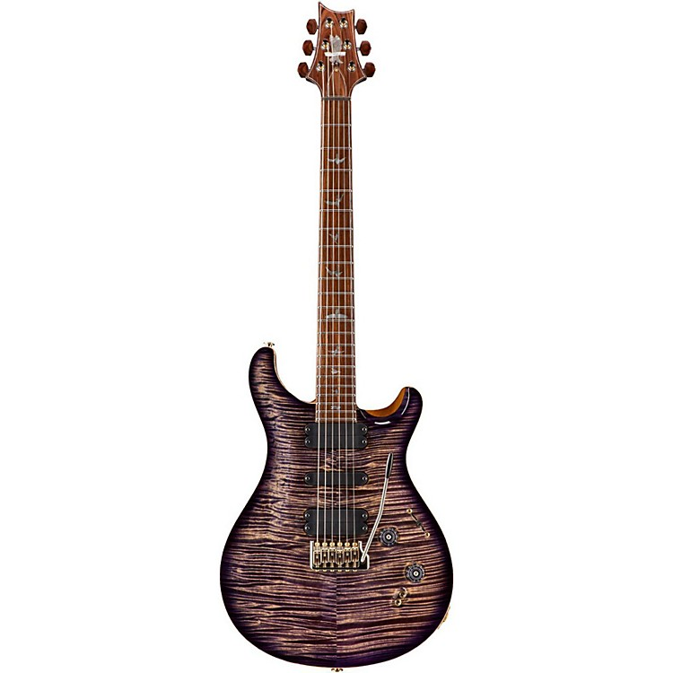 PRSPrivate Stock 509 Curly Maple Top and Neck Electric GuitarImperial Purple Smoked Burst