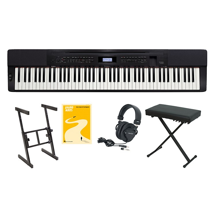 Casio Privia PX-350 Keyboard Package 1
