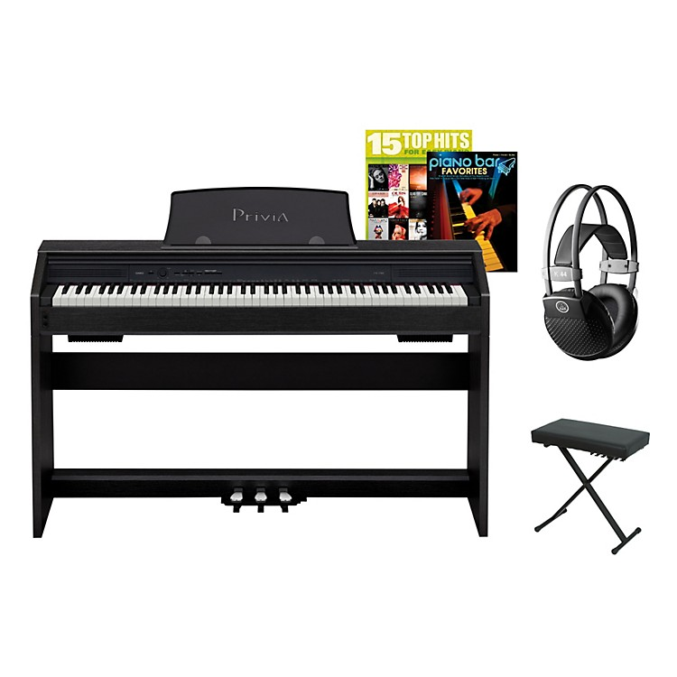 Casio Privia PX-750 Digital Piano Package Black