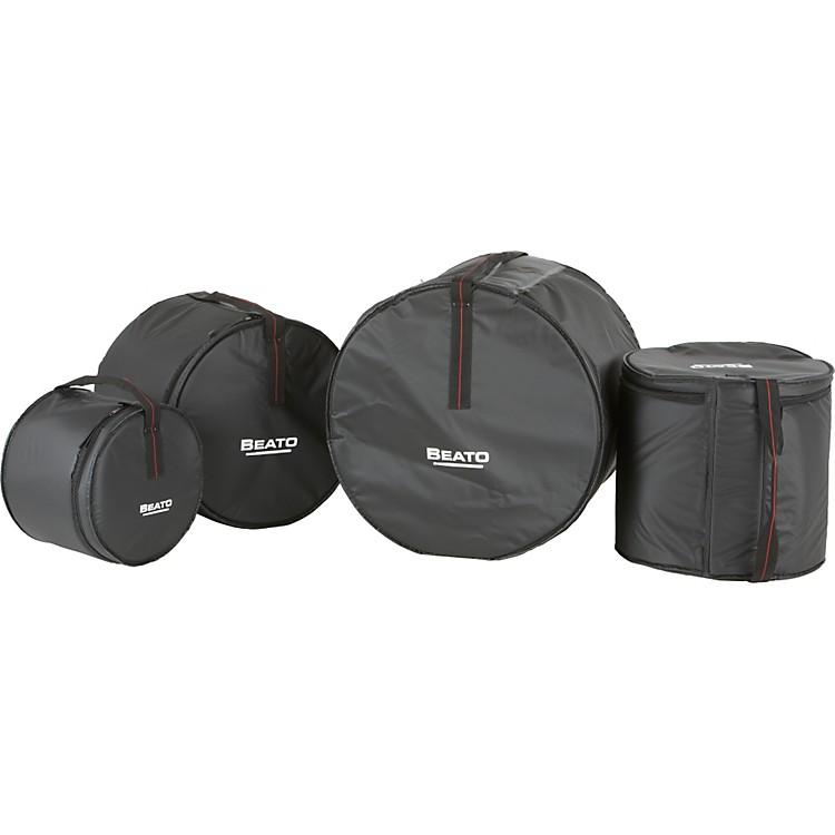 BeatoPro 1 Series 4-Piece Large Rock Drum Bag Set