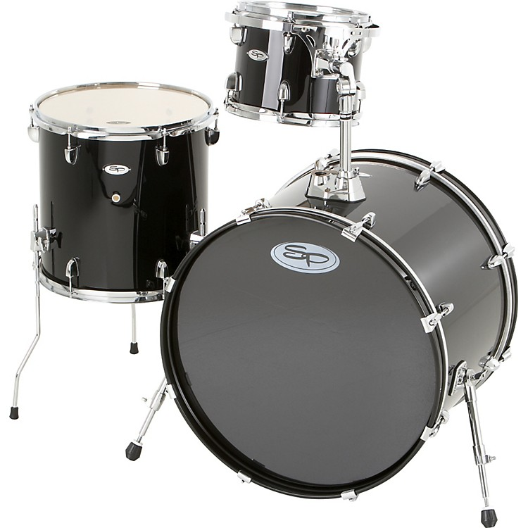 Sound Percussion Pro 3-Piece Double Bass Add-On Pack (Chrome Hoops and Lugs)