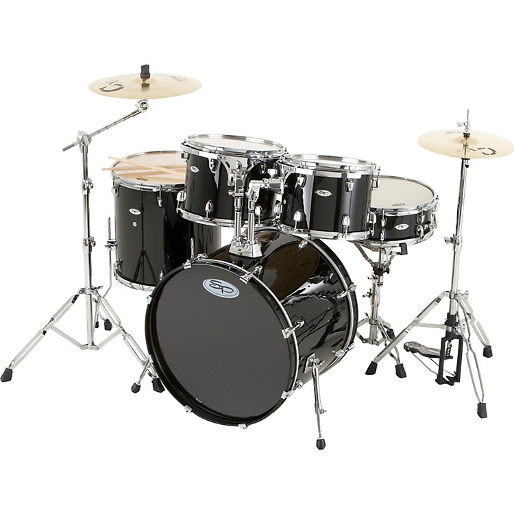 Sound Percussion Pro 5-Piece Drum Set with Cymbals