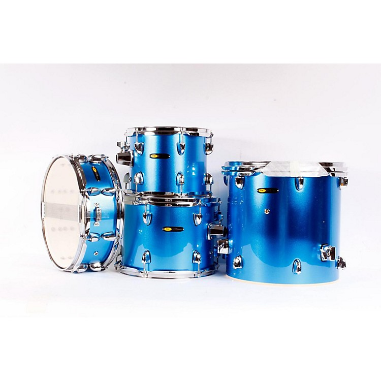 Sound Percussion Pro 5-Piece Fusion Shell Pack Blue 886830950971