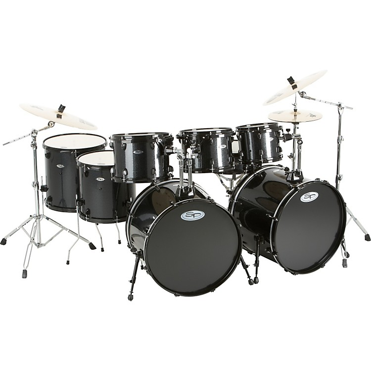 Sound Percussion Pro 8-Piece Double-Bass Drum Set