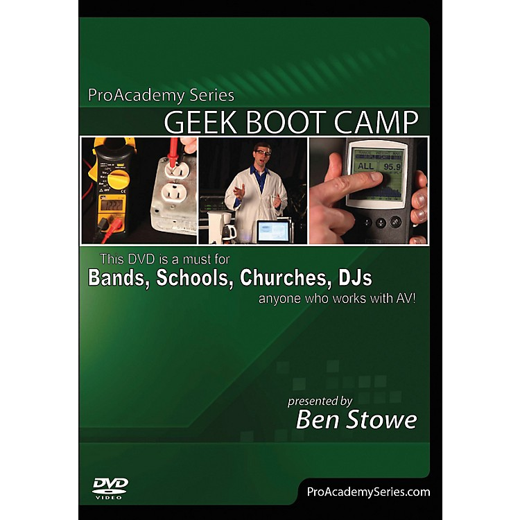 Alfred Pro Academy Series Geek Boot Camp DVD