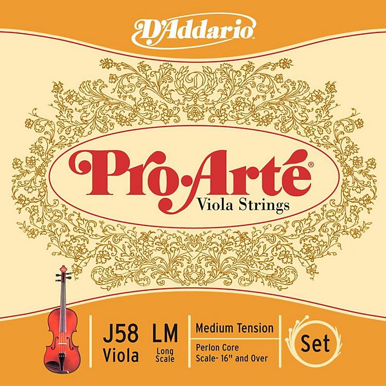 D'AddarioPro-Art Series Viola String Set16+ Long Scale