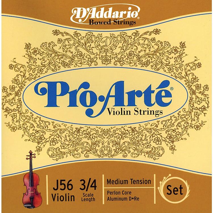 D'AddarioPro-Arte 3/4 Size Violin String Set