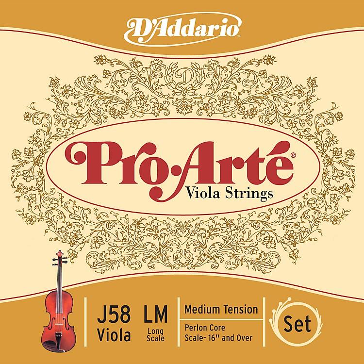 D'AddarioPro-Arte Long Scale Viola String Set