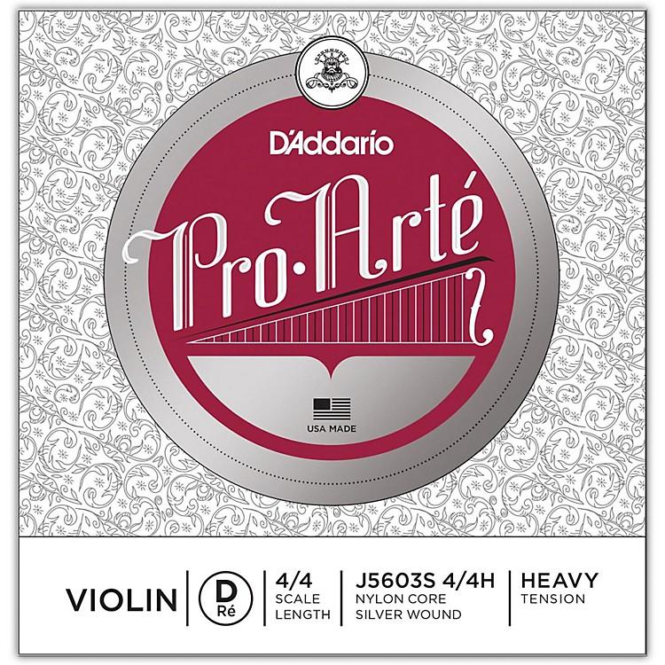 D'AddarioPro-Arte Series Violin D String4/4 Size Heavy Silver