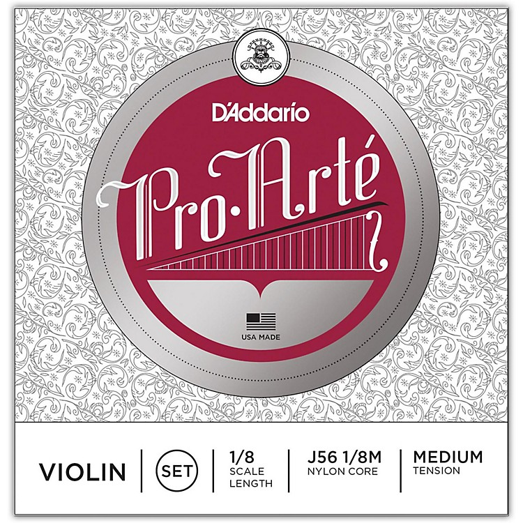 D'AddarioPro-Arte Series Violin String Set1/8 Size