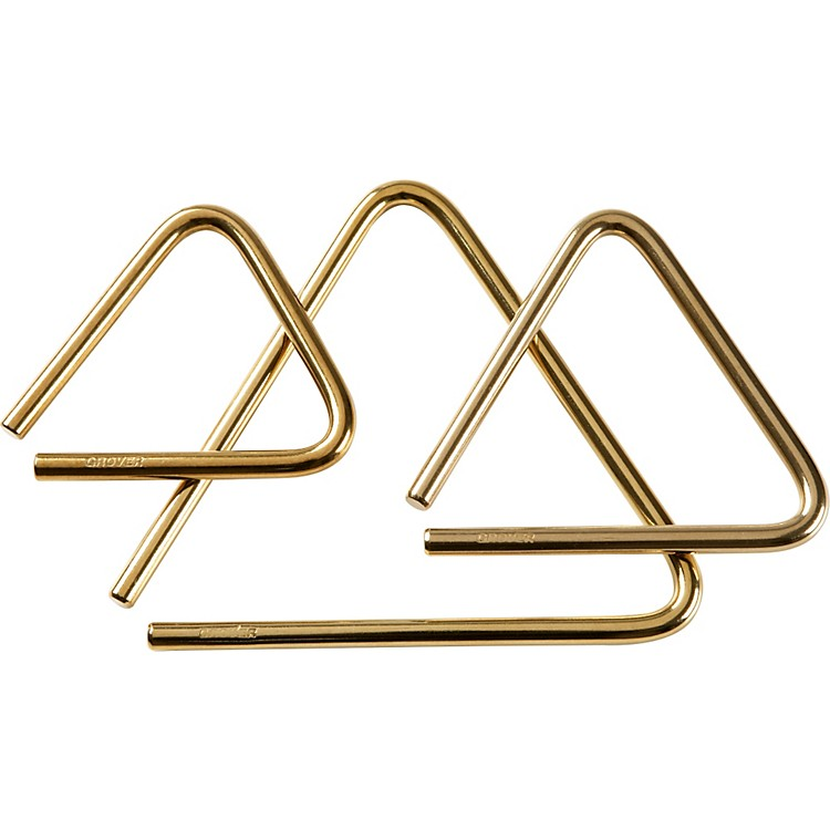 Grover ProPro Bronze Series Triangle