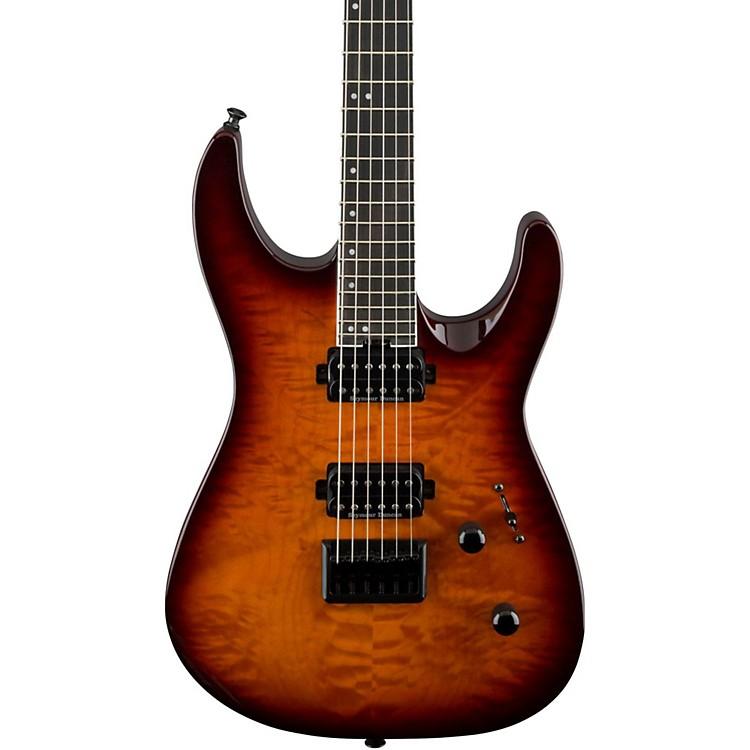 JacksonPro Dinky DK2QHT Electric GuitarTobacco Burst