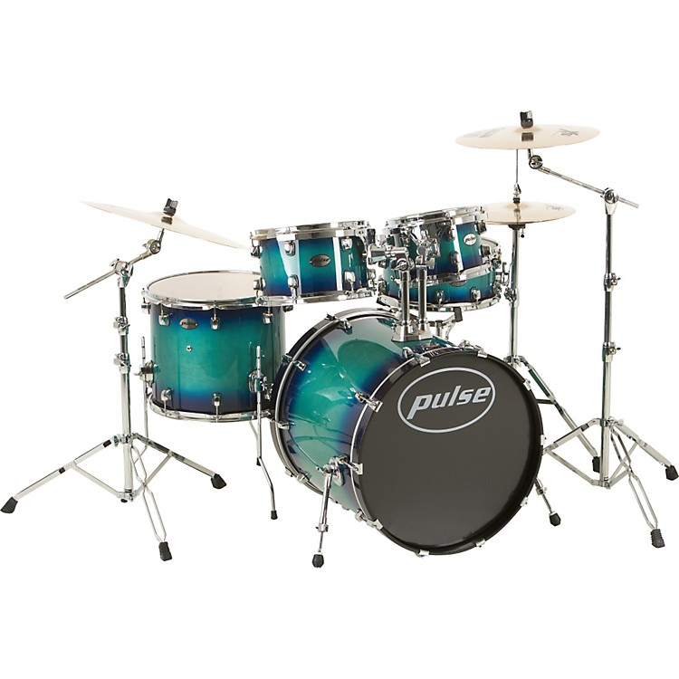 Pulse Pro Maple 5-Piece Shell Pack Blue Burst