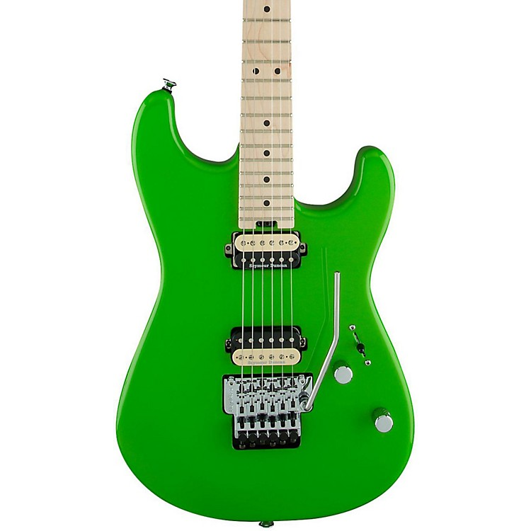 CharvelPro Mod San Dimas Style 1 2H FR Electric GuitarSlime Green