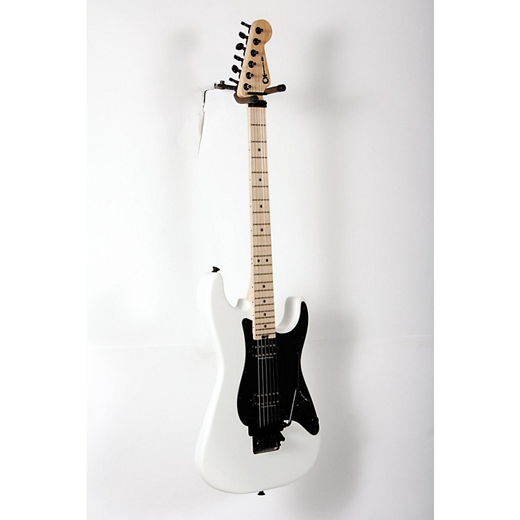 Charvel Pro Mod So Cal Style 1 2H FR Electric Guitar Snow White 888365899886