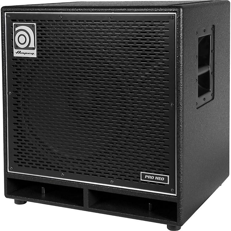 AmpegPro Neo Series PN-115HLF 575W 1x15 Bass Speaker CabinetBlack