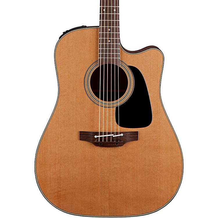 Takamine Pro Series 1 Dreadnought Cutaway Acoustic Electric Guitar Natural
