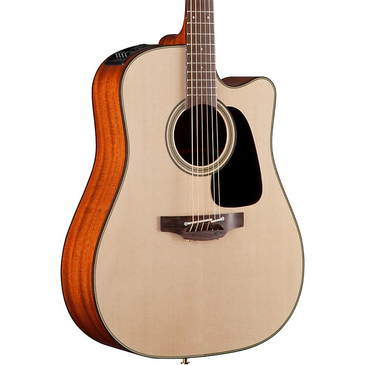 Takamine Pro Series 2 Dreadnought Cutaway Acoustic-Electric Guitar Natural