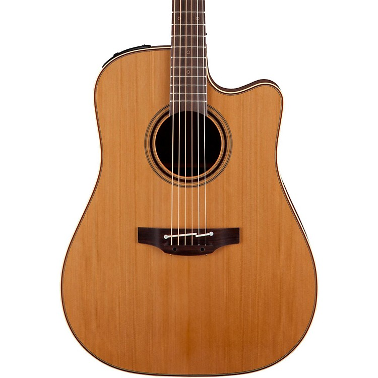 Takamine Pro Series 3 Dreadnought Cutaway Acoustic-Electric Guitar Natural