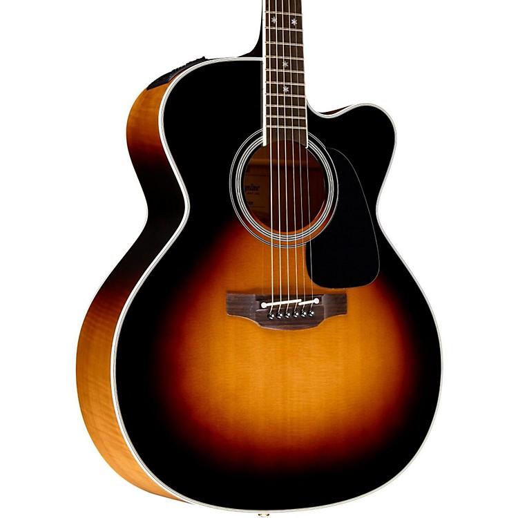 TakaminePro Series 6 Jumbo Cutaway Acoustic-Electric GuitarSunburst