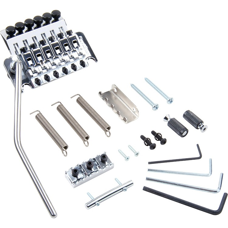 Floyd Rose Pro Series Tremolo Bridge with R3 Nut Chrome