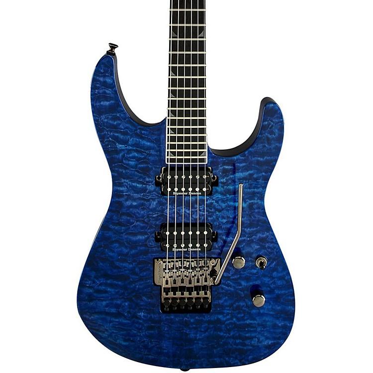 JacksonPro Soloist - SL2Q MAH Electric GuitarTrans BlueEbony Fingerboard