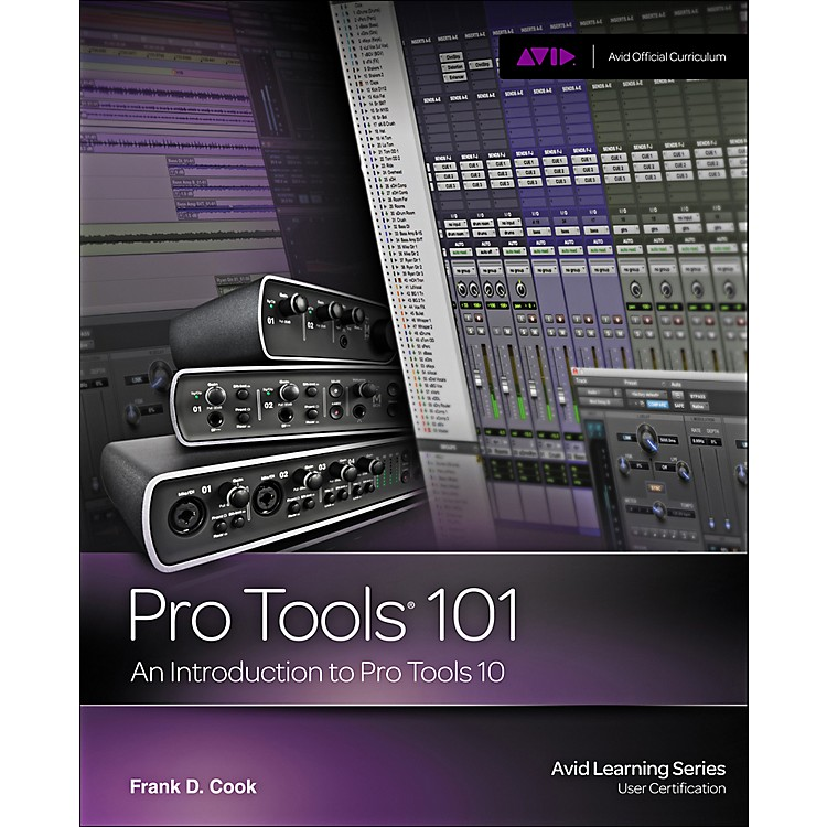 Cengage LearningPro Tools 101 Official Courseqare Ver 10 Book / CD