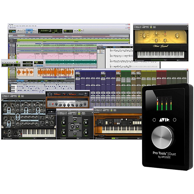 AvidPro Tools Duet with 1-Year Pro Tools Subscription