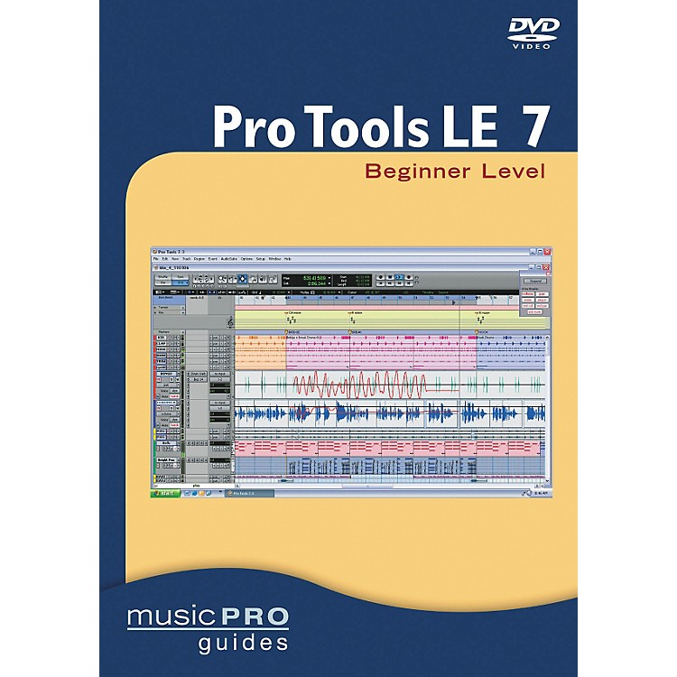 Hal Leonard Pro Tools LE 7 Beginner Level DVD
