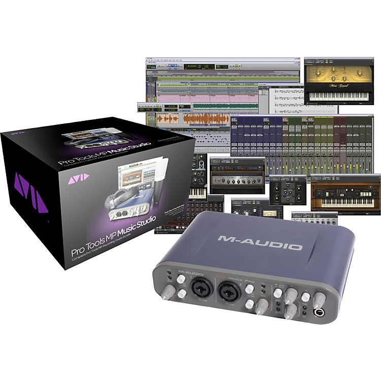 Avid Pro Tools MP Music Studio