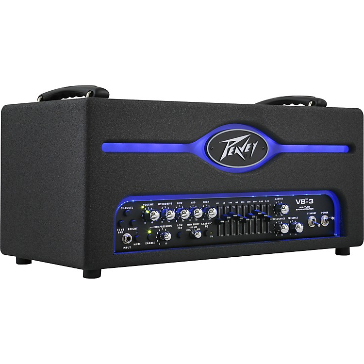Peavey Pro VB-3 300W Tube Bass Amp Head Black