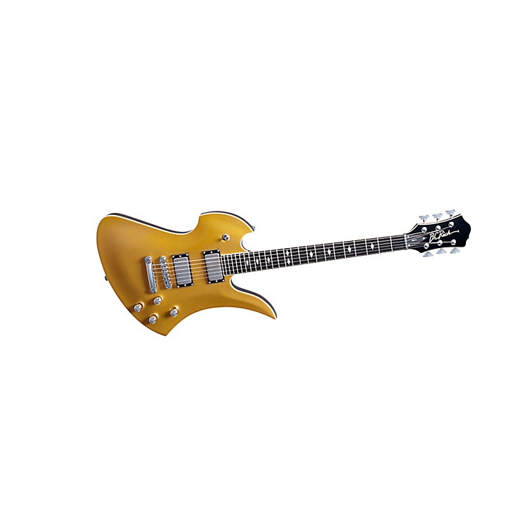 B.C. Rich Pro X Mockingbird Hardtail Electric Guitar Gold